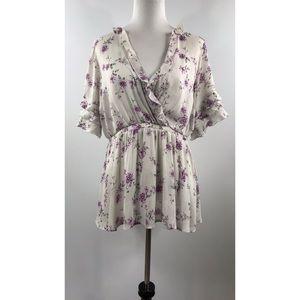 Torrid Floral Shirt